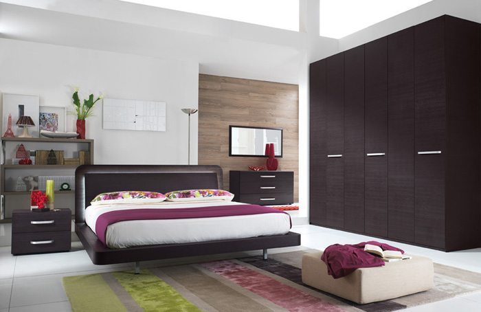 Camere da letto moderne imab group scali arredamenti for Camere da letto moderne colorate